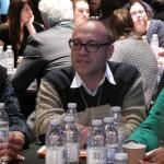 Christophe Evans lors de l'atelier sur la lecture sociale