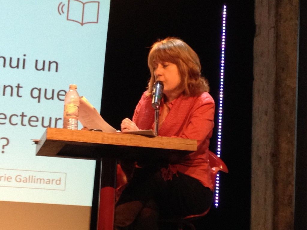L'animatrice Marie-Andrée Lamontagne