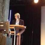 La conférencière Pirkko Lindberg- Le sens de la lecture et des bibliothèques dans la société finlandaise