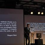 Le conférencier Yves Nadon