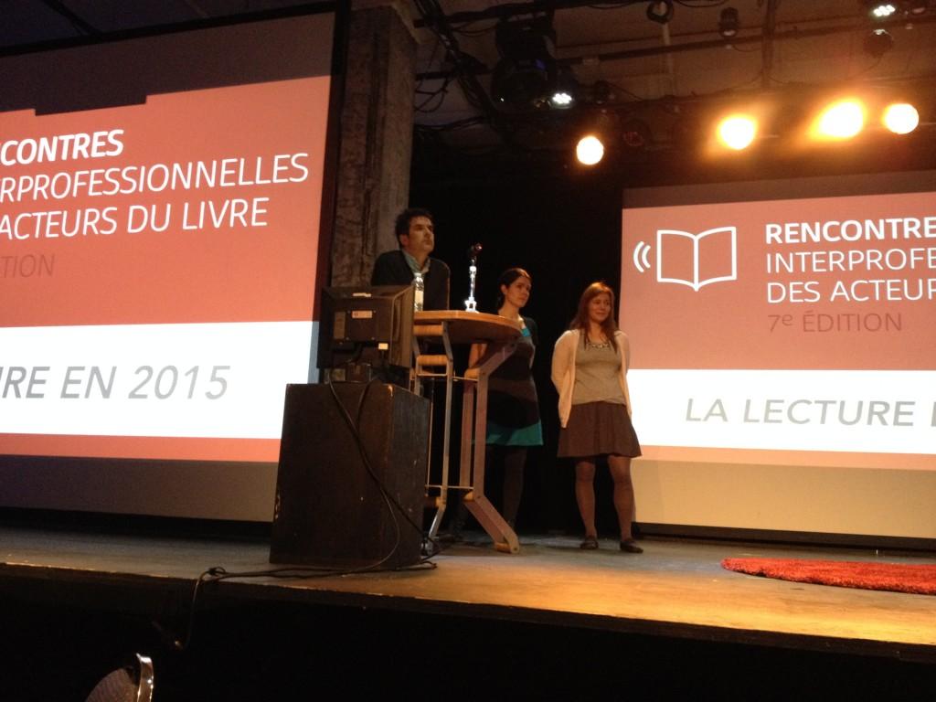 Les conférenciers: Yves Nadon, Marie Dupin de Saint-André et Isabelle Montessinot-Gelet