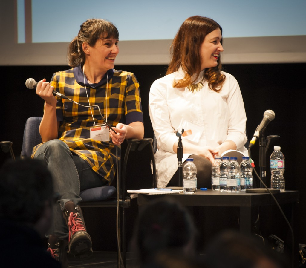 Catherine Lalonde et Geneviève Pettersen