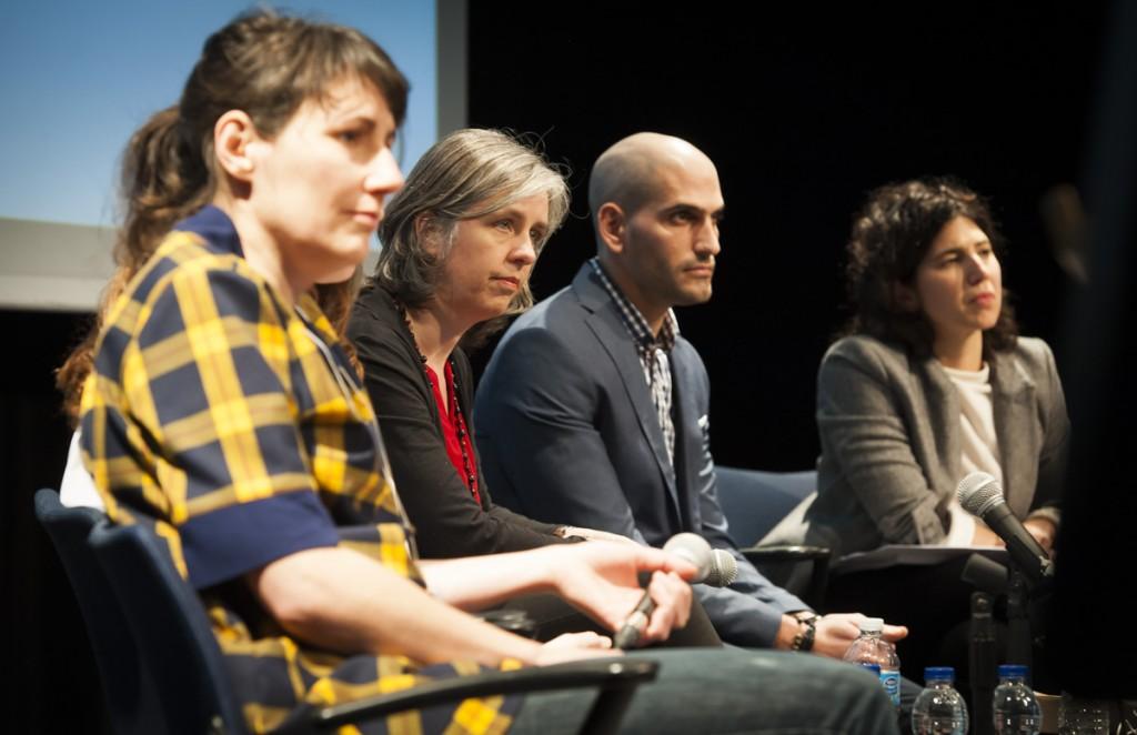 Catherine Lalonde, Josée Lapointe, Raed Hammoud et Noémie Dansereau