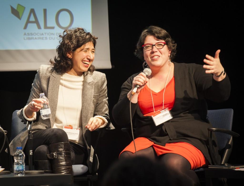 Noémie Dansereau et Catherine Voyer-Léger