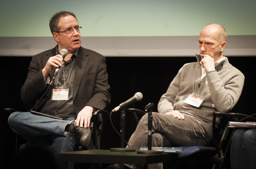 Alain Fournier et Luc Boisvert