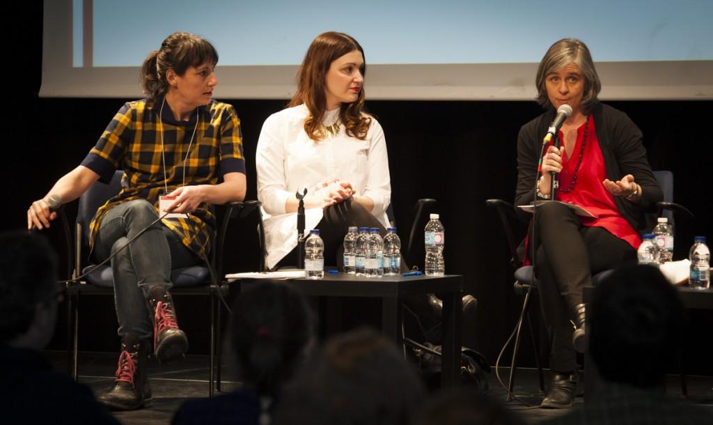 Catherine Lalonde, Geneviève Pettersen et Josée Lapointe