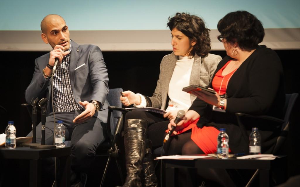 Raed Hammoud et Noémie Dansereau