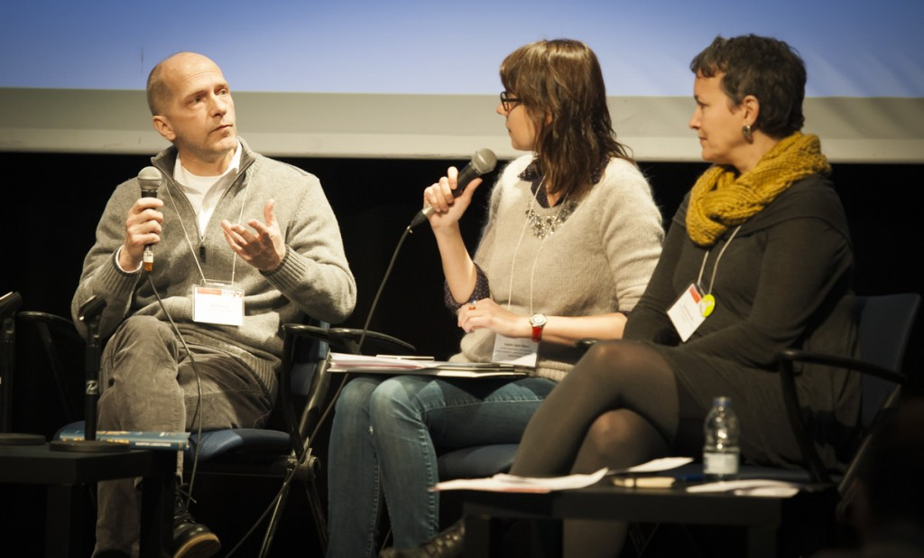 Luc Boisvert, Sophie Saint-Marc et Josée Plamondon