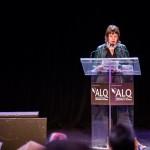 Marine Gurnade, directrice de la librairie Gallimard de Montréal