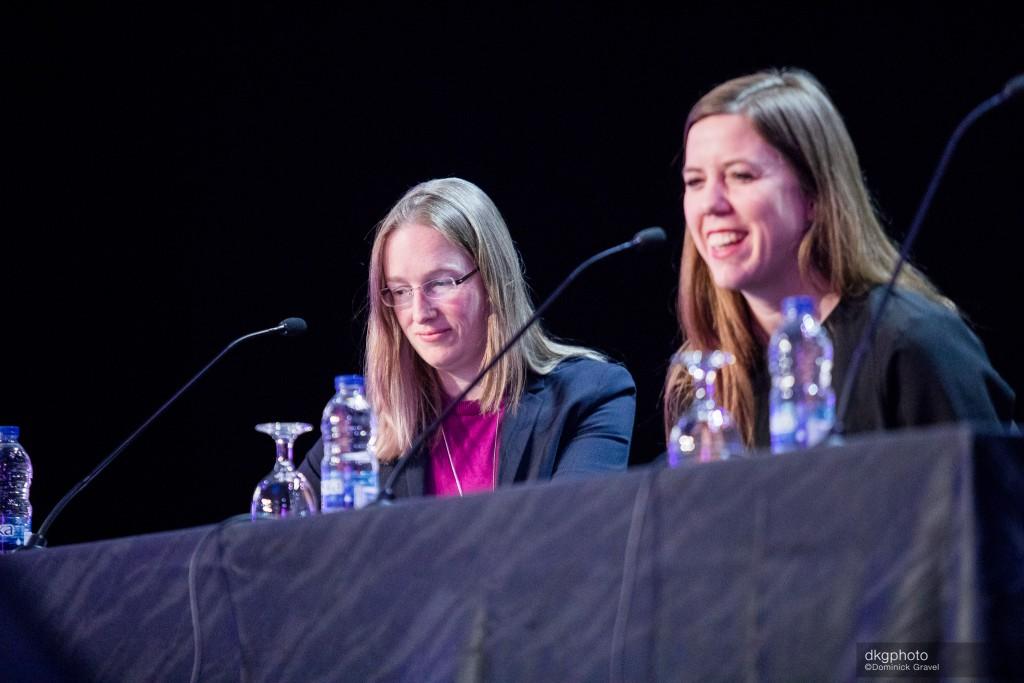 Jessica Sänger et Kristina Kramer