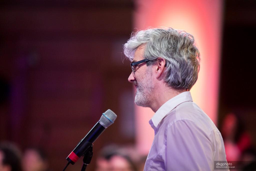 Eric Blackburn, président de l'ALQ et copropriétaire de la librairie le Port de tête